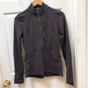 NWT Lululemon purple Sleek Essentials Jacket